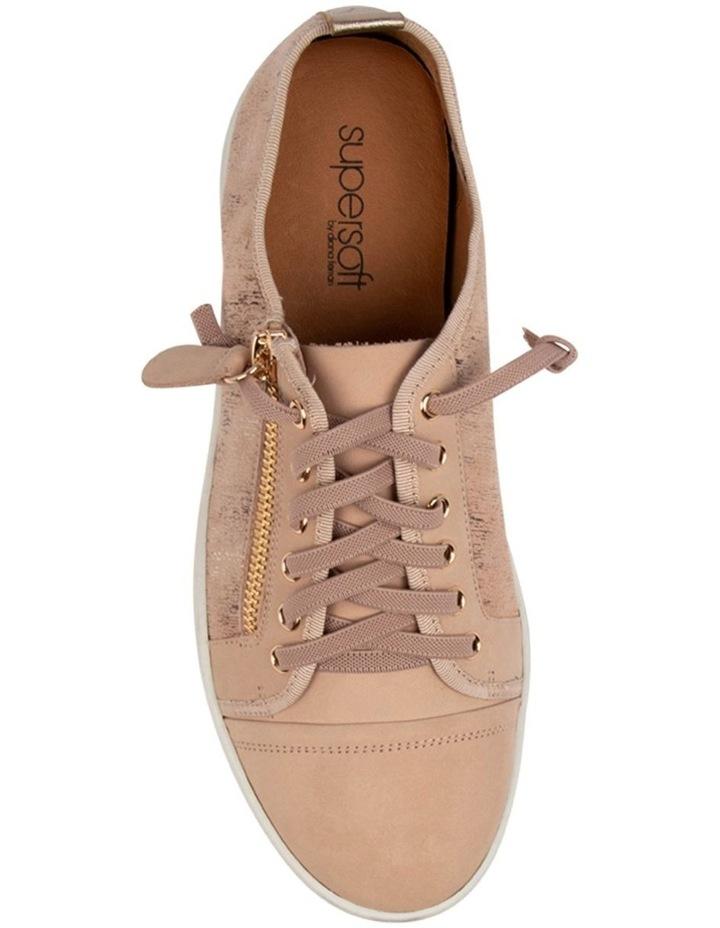 Adelaide Blush Metallic Sneaker image 4