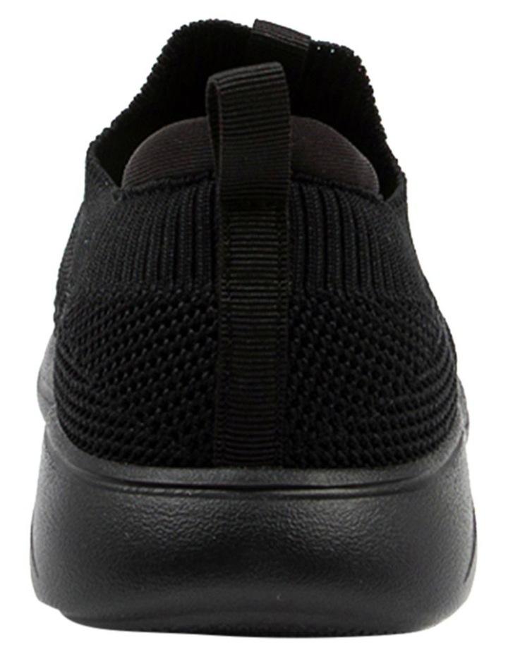 Bolinda Black Stretch Sneaker image 5