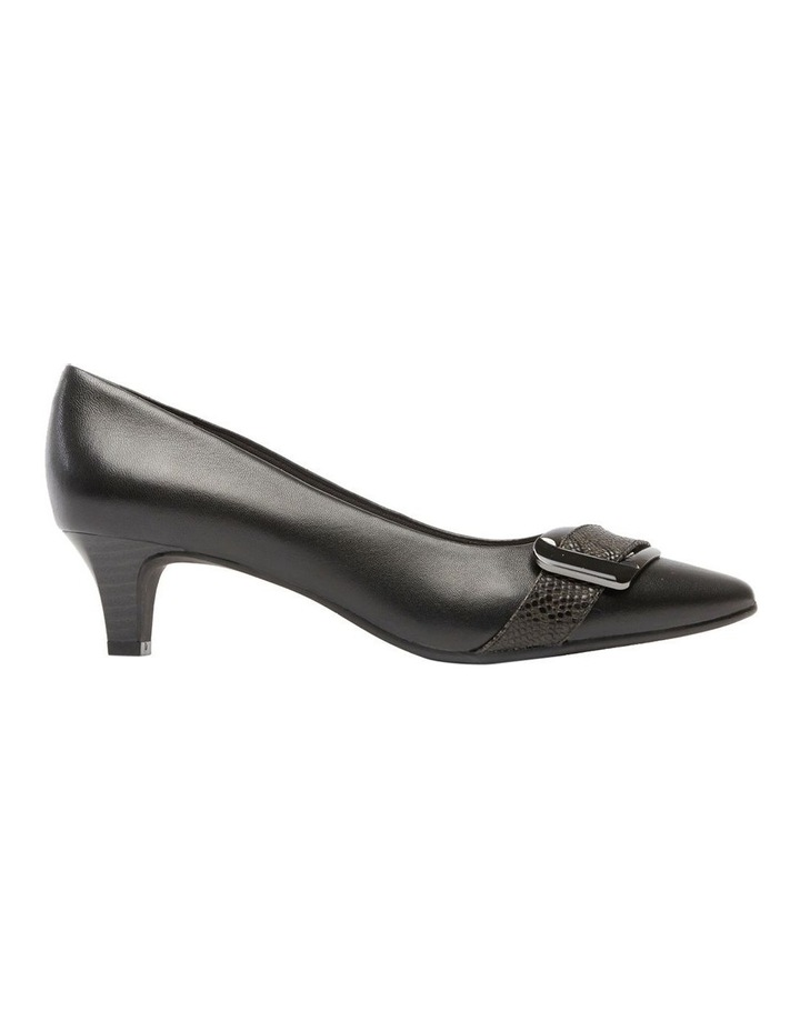 Lyberty Black/Embossed Pump image 1