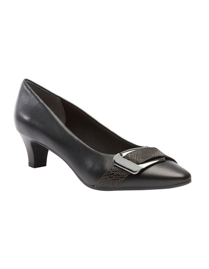 Lyberty Black/Embossed Pump image 3