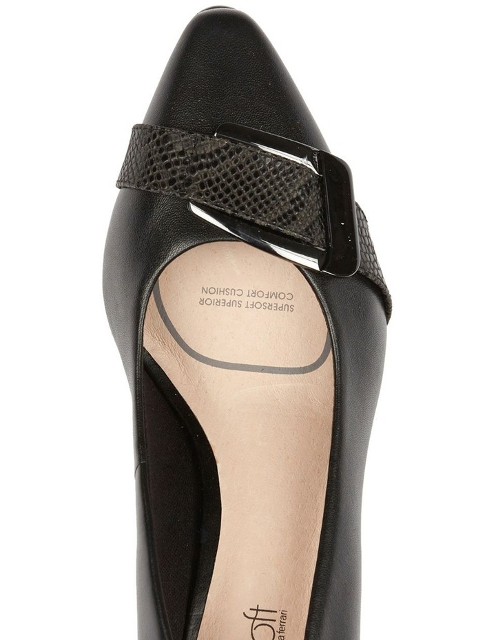 Lyberty Black/Embossed Pump image 5