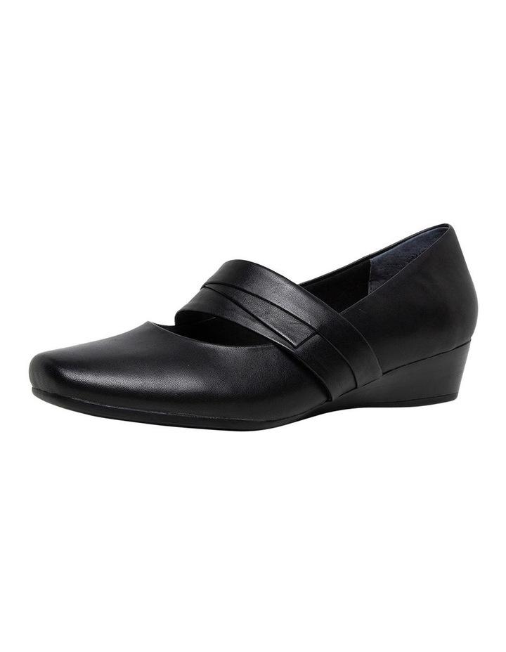 Romilly Black Heeled Shoe image 1