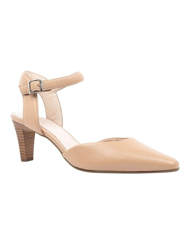 Majesta Nude Heeled Shoe image 2