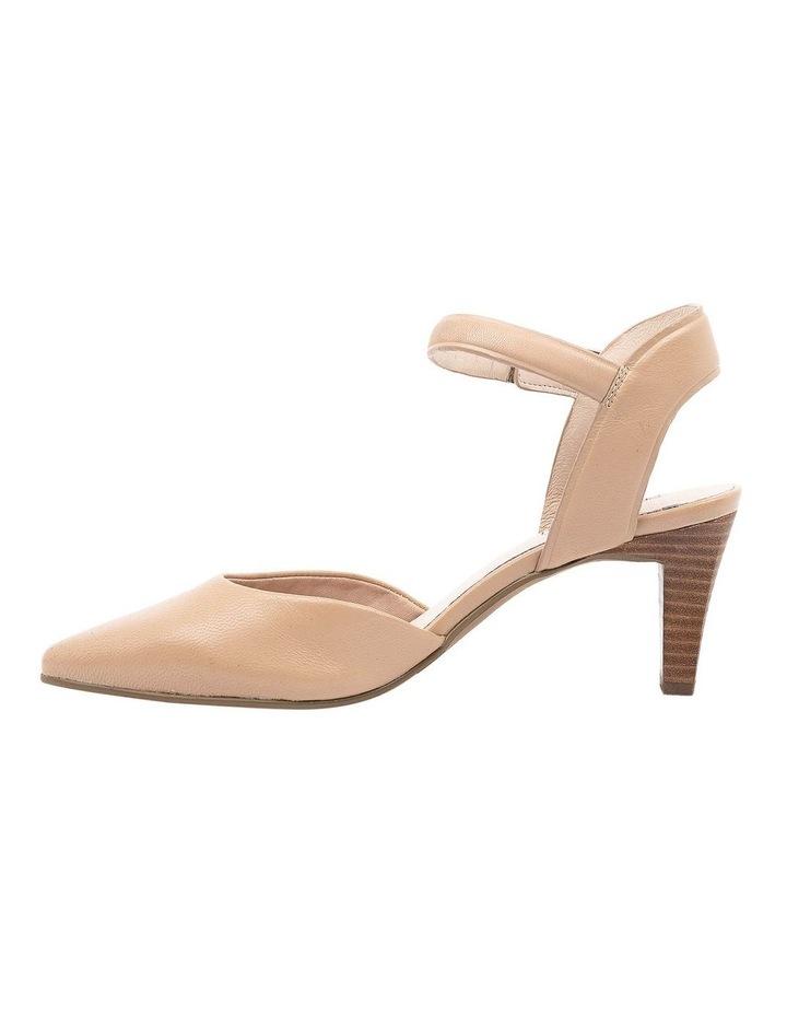 Majesta Nude Heeled Shoe image 3