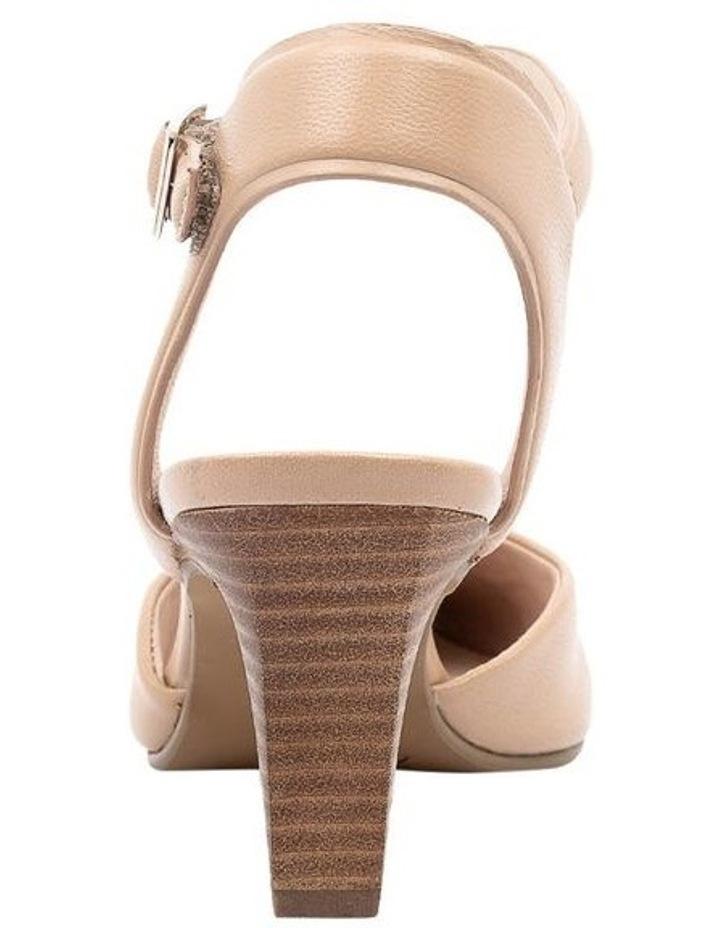 Majesta Nude Heeled Shoe image 4