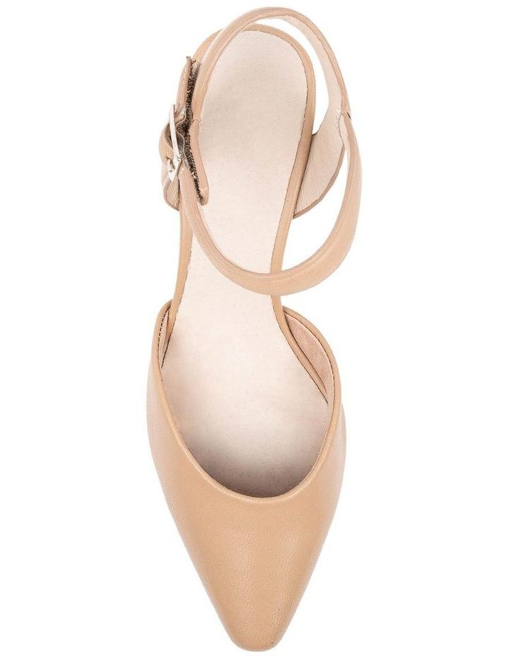 Majesta Nude Heeled Shoe image 5