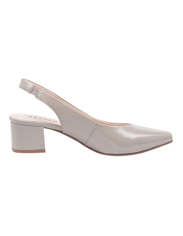 Kadnook Heeled Shoes Pale Taupe Crinkle Patent image 1