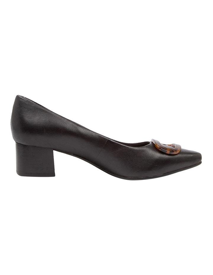 Keely Heeled Shoes Black Leather image 1
