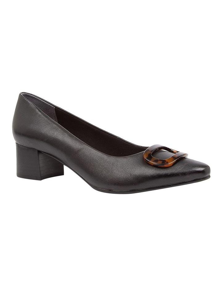 Keely Heeled Shoes Black Leather image 2