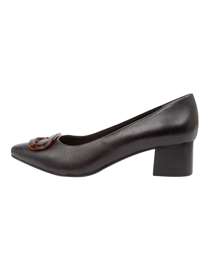 Keely Heeled Shoes Black Leather image 3