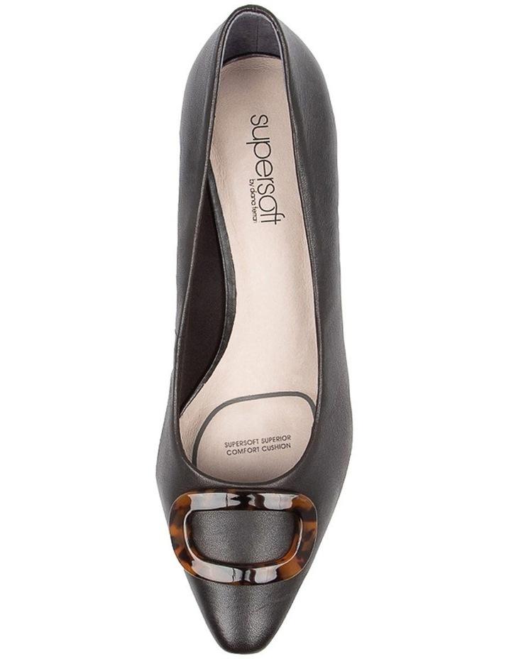 Keely Heeled Shoes Black Leather image 5