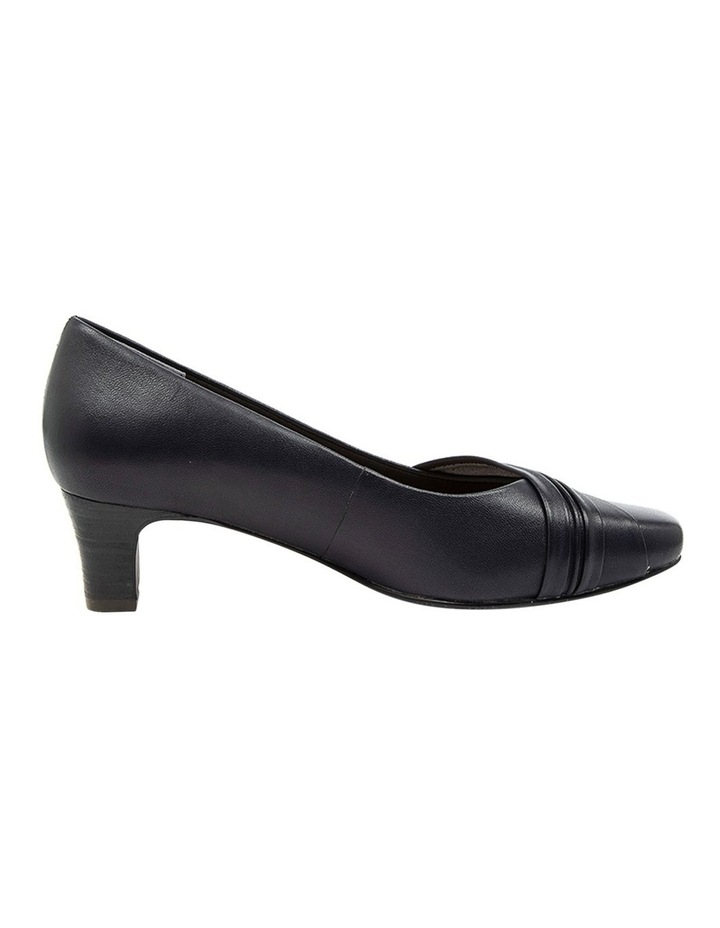 Mallow Heeled Shoes Navy image 1