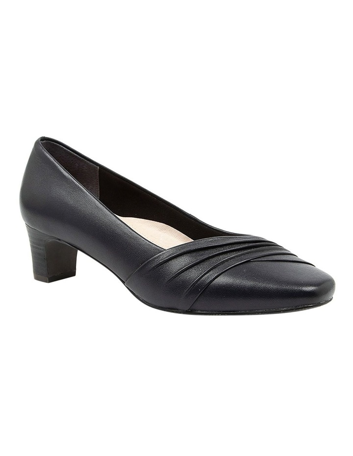 Mallow Heeled Shoes Navy image 2