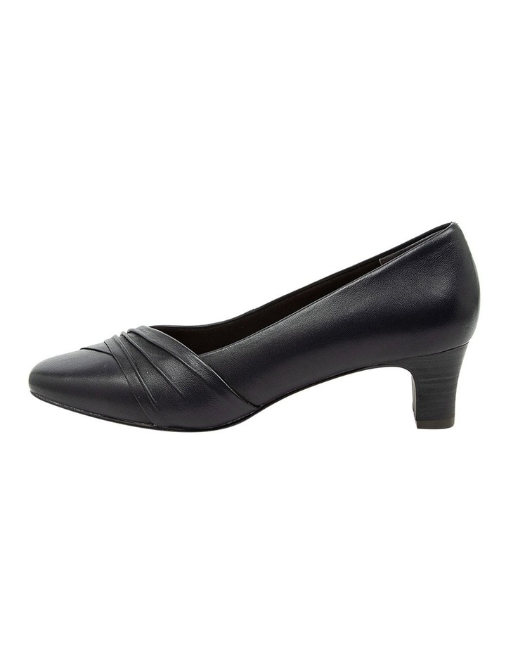 Mallow Heeled Shoes Navy image 3