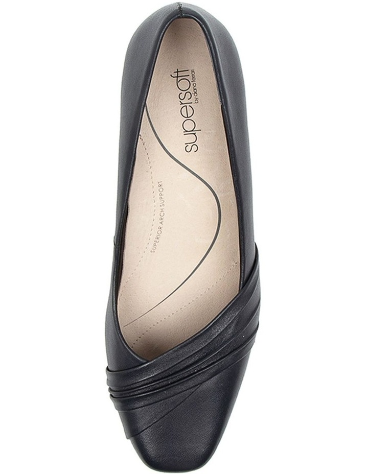 Mallow Heeled Shoes Navy image 5