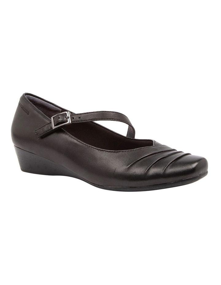 Reedy Heeled Shoes Black image 2