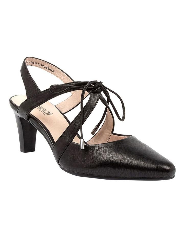 Meduza Black Heeled Shoes image 2