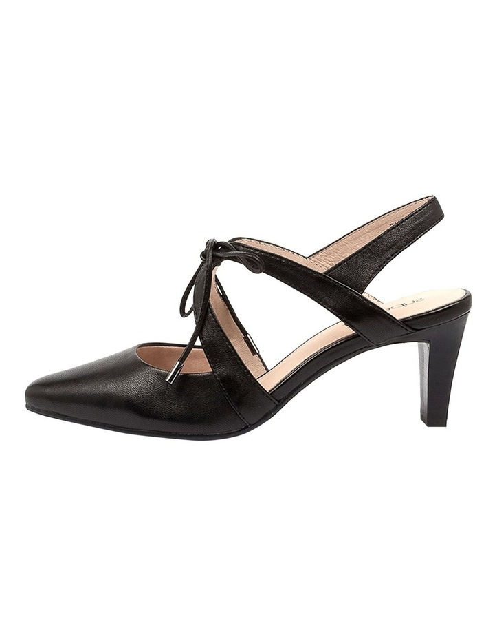 Meduza Black Heeled Shoes image 3