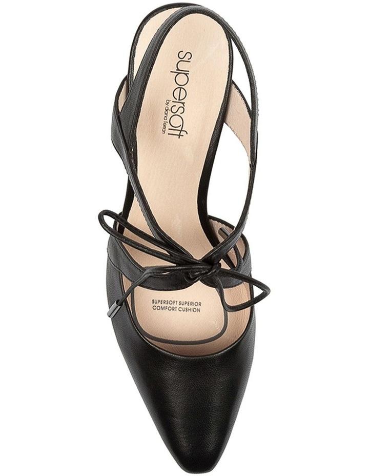Meduza Black Heeled Shoes image 5