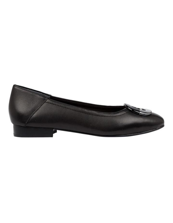 Abree Black Flat Shoe image 1