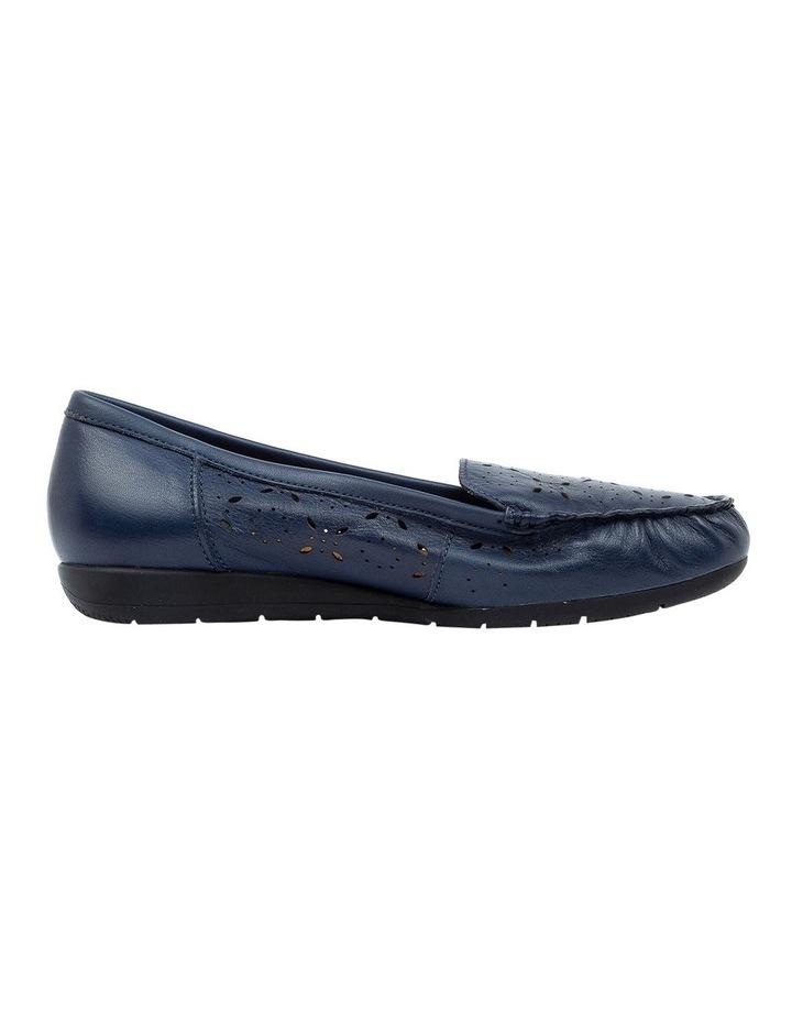 Fiennes Navy Flat Shoe image 1