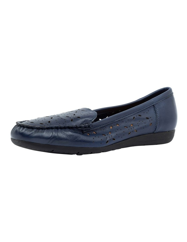 Fiennes Navy Flat Shoe image 3