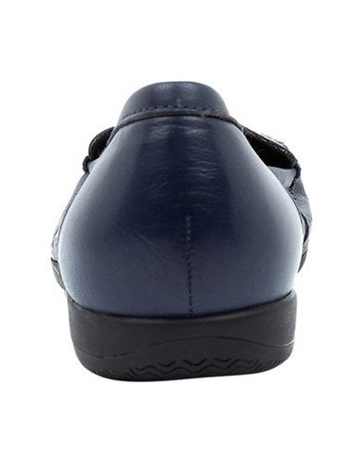Fiennes Navy Flat Shoe image 4