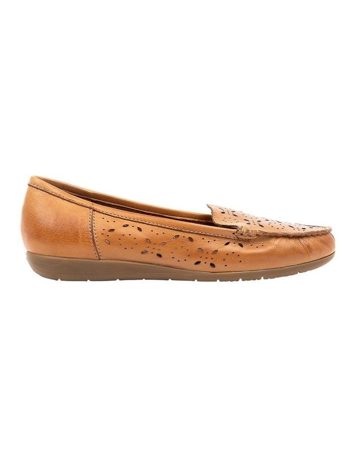 Fiennes Tan Flat Shoe image 1