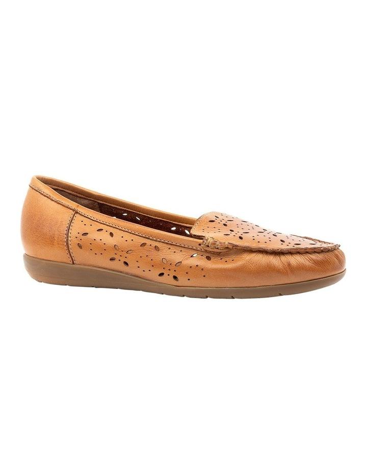 Fiennes Tan Flat Shoe image 2