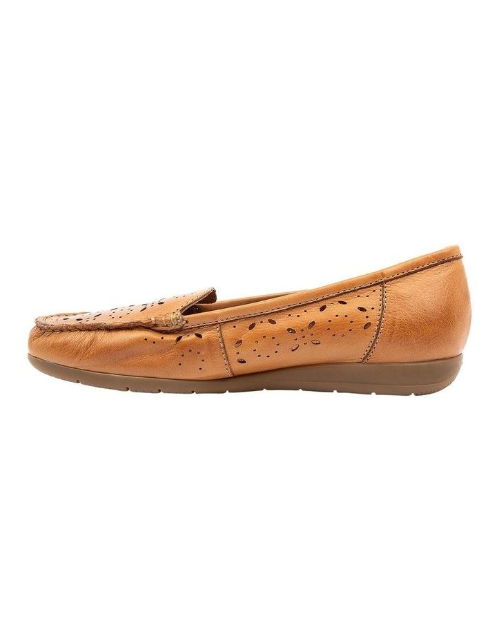 Fiennes Tan Flat Shoe image 3
