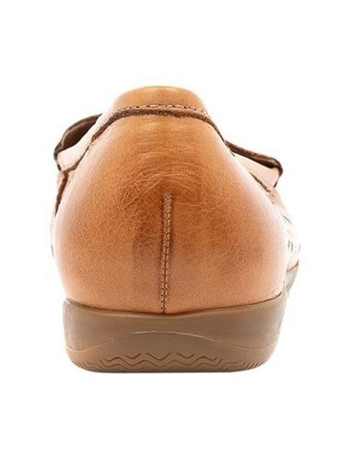 Fiennes Tan Flat Shoe image 4