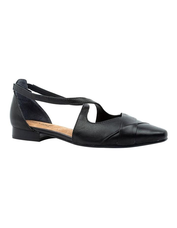 Laveda Black Flat Shoe image 2