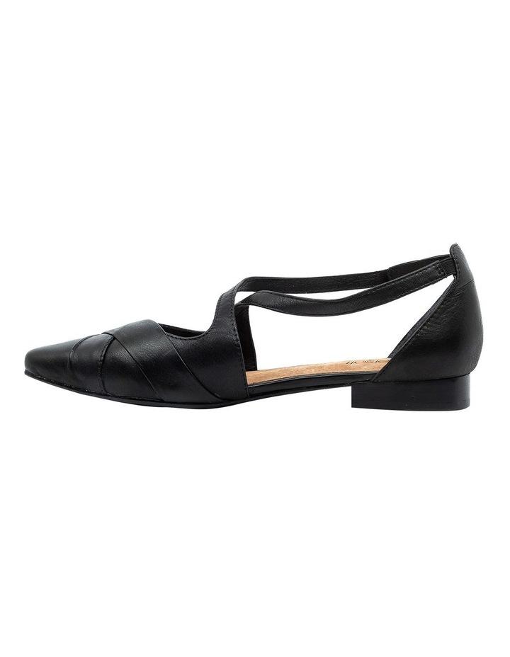 Laveda Black Flat Shoe image 3