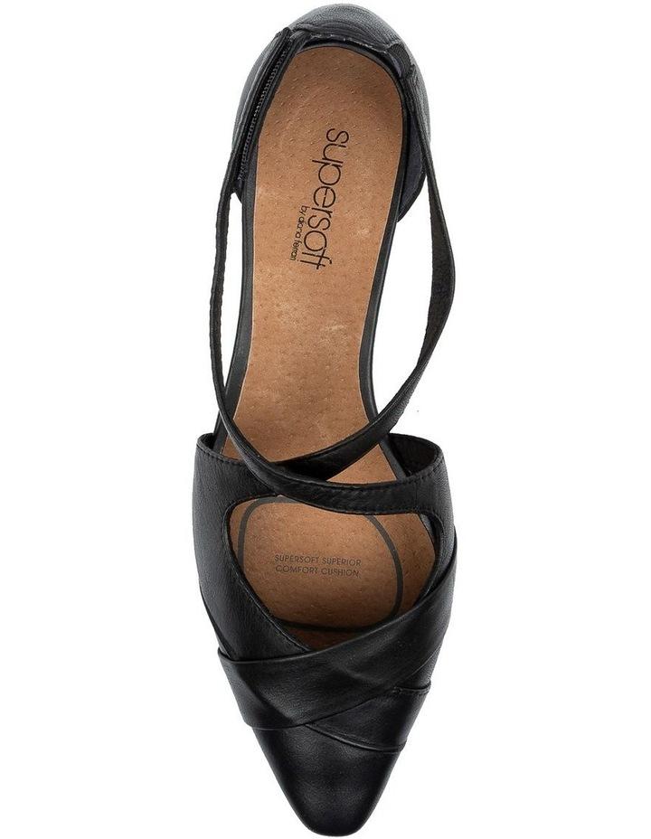 Laveda Black Flat Shoe image 5