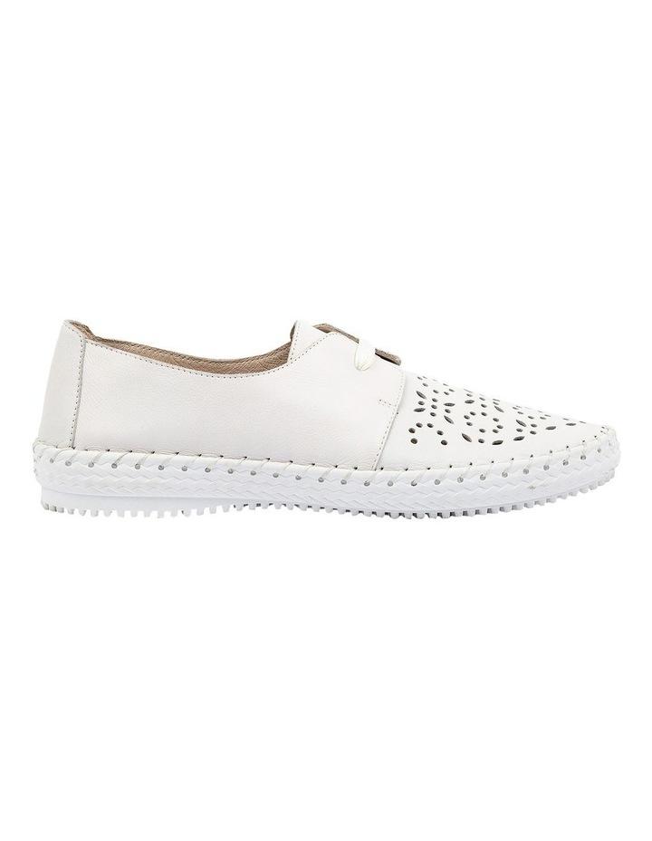 Warble White Flat Shoe image 1