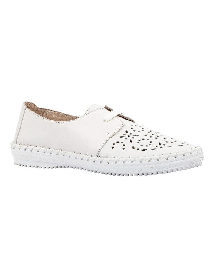 Warble White Flat Shoe image 2