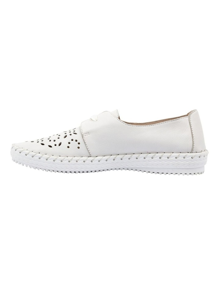 Warble White Flat Shoe image 3