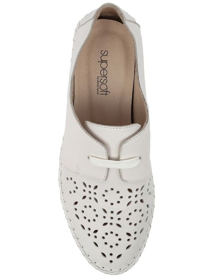 Warble White Flat Shoe image 5