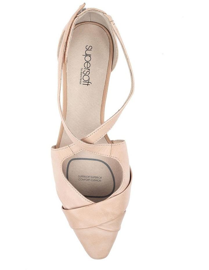 Laveda Blush Flat Shoe image 5