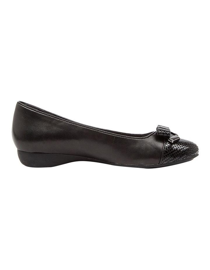 Epsom Flat Shoes Black image 1