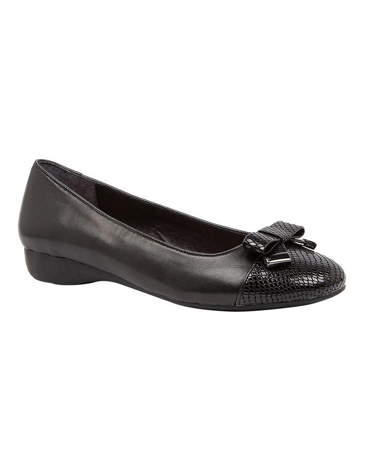 Epsom Flat Shoes Black image 2