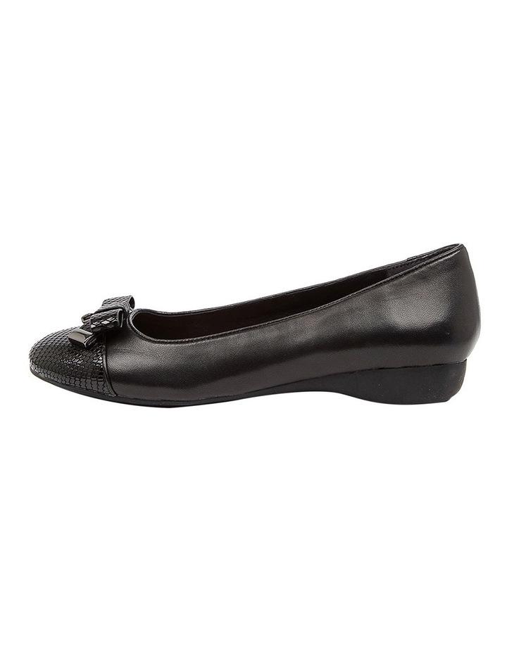 Epsom Flat Shoes Black image 3