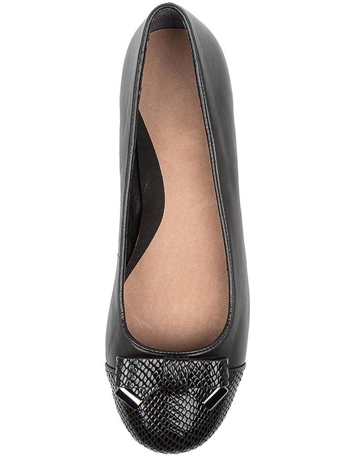 Epsom Flat Shoes Black image 5