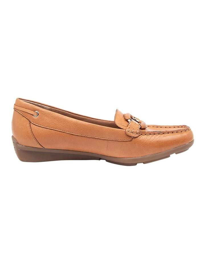 Leeto Flat Shoes Tan Euro Leather image 1