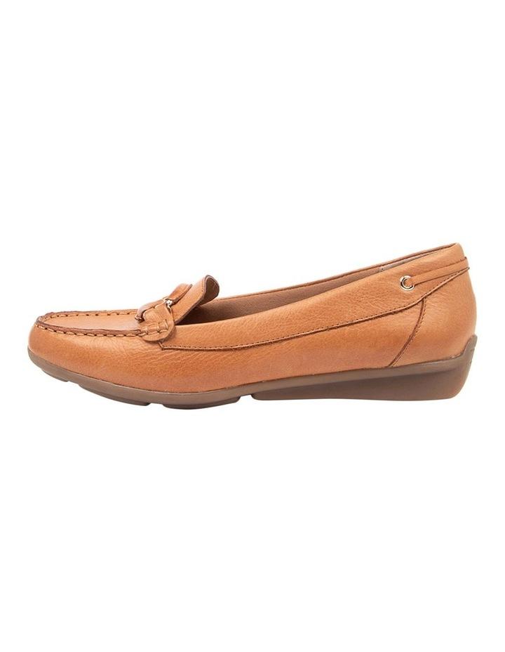 Leeto Flat Shoes Tan Euro Leather image 3