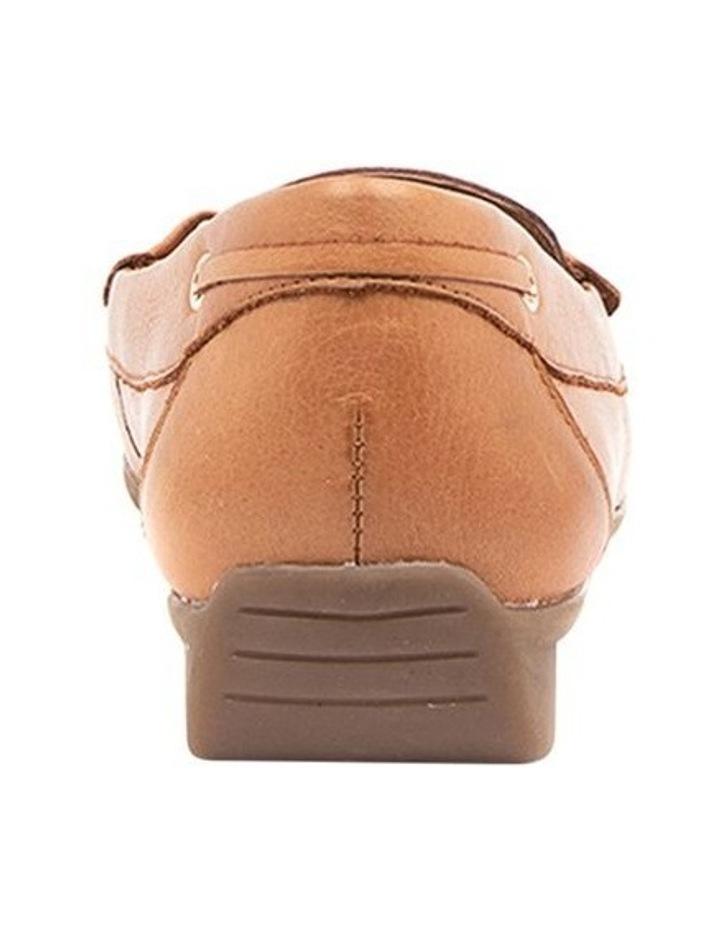 Leeto Flat Shoes Tan Euro Leather image 4