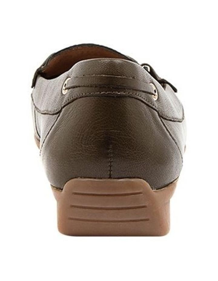 Leeto Flat Shoes Khaki Euro Leather image 4
