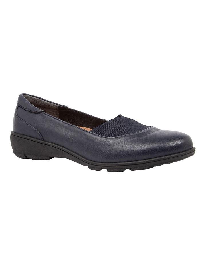 Qamara Flat Shoes Navy image 2