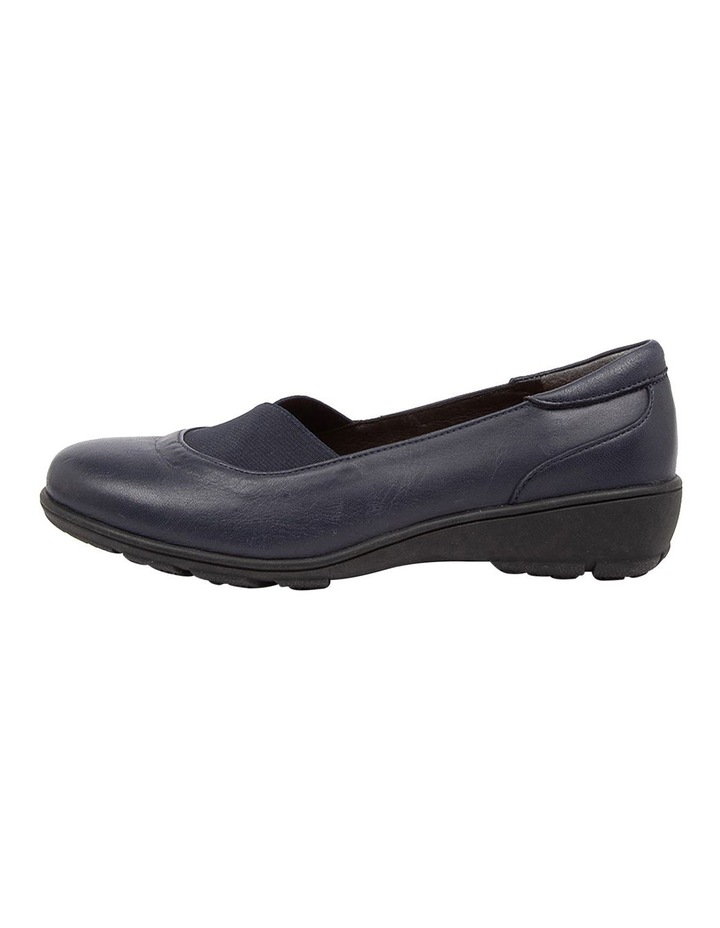 Qamara Flat Shoes Navy image 3
