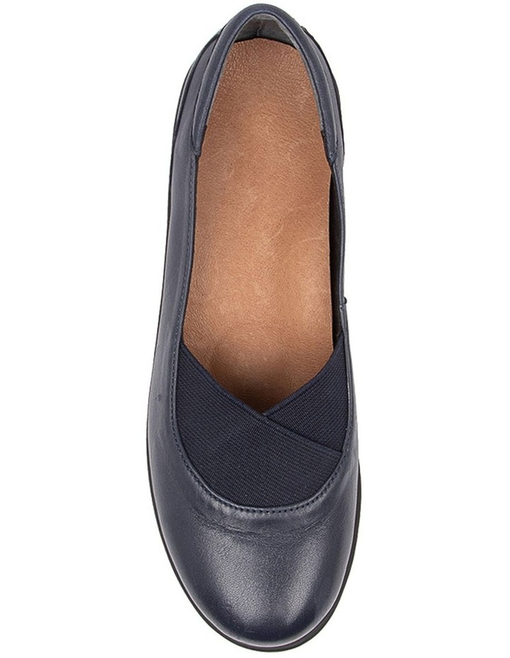 Qamara Flat Shoes Navy image 5